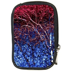 Autumn Fractal Forest Background Compact Camera Cases