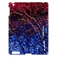 Autumn Fractal Forest Background Apple Ipad 3/4 Hardshell Case by Amaryn4rt