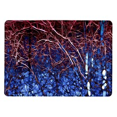 Autumn Fractal Forest Background Samsung Galaxy Tab 10 1  P7500 Flip Case by Amaryn4rt