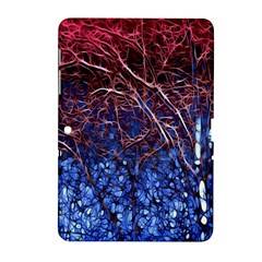 Autumn Fractal Forest Background Samsung Galaxy Tab 2 (10 1 ) P5100 Hardshell Case