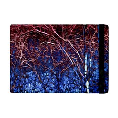 Autumn Fractal Forest Background Ipad Mini 2 Flip Cases