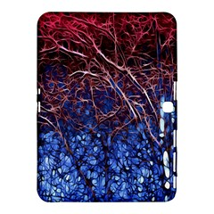 Autumn Fractal Forest Background Samsung Galaxy Tab 4 (10 1 ) Hardshell Case