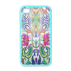 Wallpaper Created From Coloring Book Apple Iphone 4 Case (color) by Amaryn4rt
