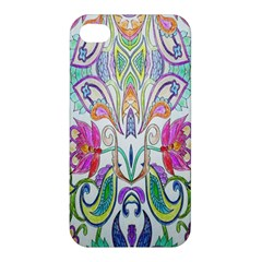 Wallpaper Created From Coloring Book Apple Iphone 4/4s Premium Hardshell Case by Amaryn4rt
