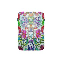 Wallpaper Created From Coloring Book Apple Ipad Mini Protective Soft Cases by Amaryn4rt