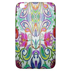 Wallpaper Created From Coloring Book Samsung Galaxy Tab 3 (8 ) T3100 Hardshell Case
