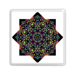 Mandala Abstract Geometric Art Memory Card Reader (square)