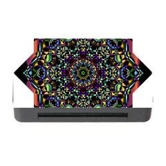 Mandala Abstract Geometric Art Memory Card Reader With Cf by Amaryn4rt