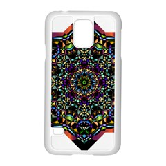 Mandala Abstract Geometric Art Samsung Galaxy S5 Case (white)