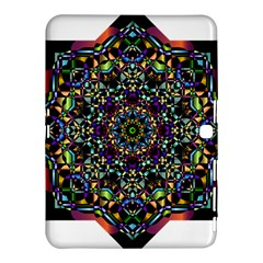 Mandala Abstract Geometric Art Samsung Galaxy Tab 4 (10 1 ) Hardshell Case  by Amaryn4rt