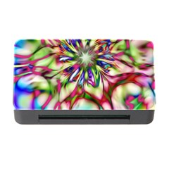 Magic Fractal Flower Multicolored Memory Card Reader With Cf by EDDArt