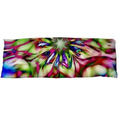Magic Fractal Flower Multicolored Body Pillow Case Dakimakura (two Sides) by EDDArt