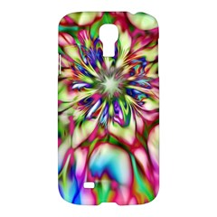 Magic Fractal Flower Multicolored Samsung Galaxy S4 I9500/i9505 Hardshell Case by EDDArt
