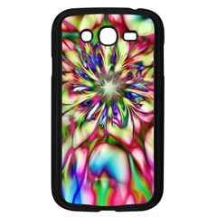 Magic Fractal Flower Multicolored Samsung Galaxy Grand Duos I9082 Case (black) by EDDArt