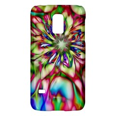 Magic Fractal Flower Multicolored Galaxy S5 Mini by EDDArt