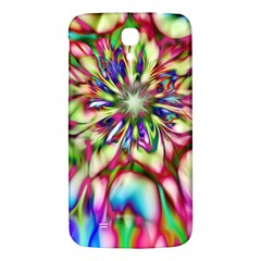 Magic Fractal Flower Multicolored Samsung Galaxy Mega I9200 Hardshell Back Case by EDDArt