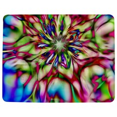Magic Fractal Flower Multicolored Jigsaw Puzzle Photo Stand (rectangular) by EDDArt