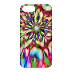Magic Fractal Flower Multicolored Apple Iphone 7 Plus Hardshell Case by EDDArt