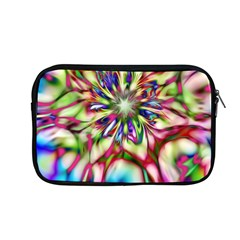 Magic Fractal Flower Multicolored Apple Macbook Pro 13  Zipper Case by EDDArt