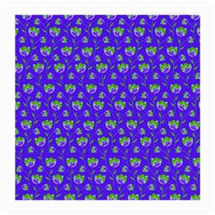Floral Pattern Medium Glasses Cloth