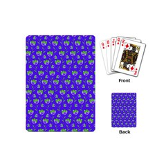 Floral Pattern Playing Cards (mini)  by Valentinaart