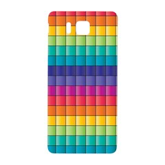 Pattern Grid Squares Texture Samsung Galaxy Alpha Hardshell Back Case by Amaryn4rt