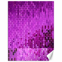 Purple Background Scrapbooking Paper Canvas 12  X 16   by Amaryn4rt
