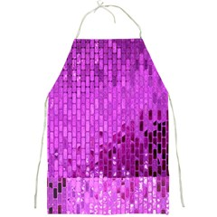 Purple Background Scrapbooking Paper Full Print Aprons by Amaryn4rt