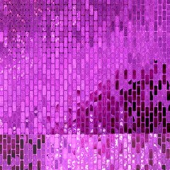 Purple Background Scrapbooking Paper Magic Photo Cubes by Amaryn4rt