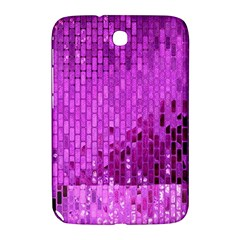 Purple Background Scrapbooking Paper Samsung Galaxy Note 8 0 N5100 Hardshell Case