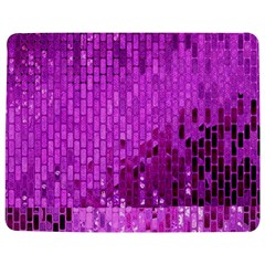 Purple Background Scrapbooking Paper Jigsaw Puzzle Photo Stand (rectangular) by Amaryn4rt