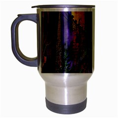 Downtown Chicago Travel Mug (silver Gray) by Amaryn4rt