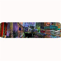 Downtown Chicago Large Bar Mats by Amaryn4rt