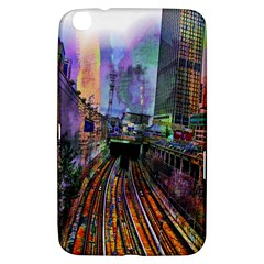 Downtown Chicago Samsung Galaxy Tab 3 (8 ) T3100 Hardshell Case