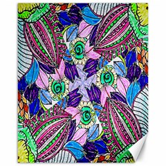 Wallpaper Created From Coloring Book Canvas 16  X 20   by Amaryn4rt