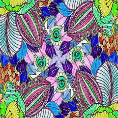 Wallpaper Created From Coloring Book Magic Photo Cubes by Amaryn4rt