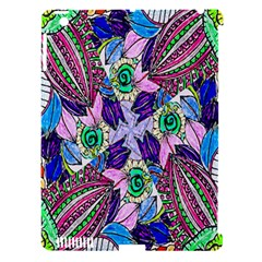 Wallpaper Created From Coloring Book Apple Ipad 3/4 Hardshell Case (compatible With Smart Cover) by Amaryn4rt