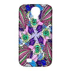 Wallpaper Created From Coloring Book Samsung Galaxy S4 Classic Hardshell Case (pc+silicone) by Amaryn4rt