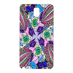 Wallpaper Created From Coloring Book Samsung Galaxy Note 3 N9005 Hardshell Back Case by Amaryn4rt
