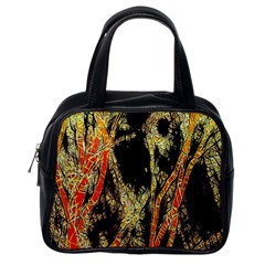 Artistic Effect Fractal Forest Background Classic Handbags (one Side) by Amaryn4rt