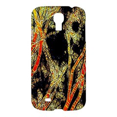 Artistic Effect Fractal Forest Background Samsung Galaxy S4 I9500/i9505 Hardshell Case by Amaryn4rt