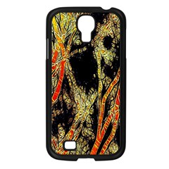 Artistic Effect Fractal Forest Background Samsung Galaxy S4 I9500/ I9505 Case (black)