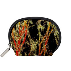 Artistic Effect Fractal Forest Background Accessory Pouches (small)