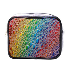 Bubbles Rainbow Colourful Colors Mini Toiletries Bags by Amaryn4rt