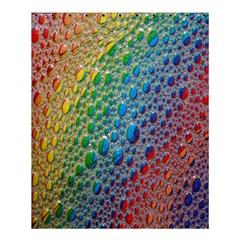 Bubbles Rainbow Colourful Colors Shower Curtain 60  X 72  (medium)  by Amaryn4rt