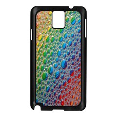 Bubbles Rainbow Colourful Colors Samsung Galaxy Note 3 N9005 Case (black) by Amaryn4rt