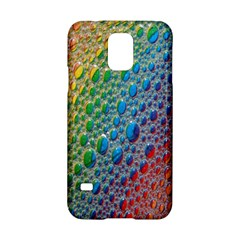 Bubbles Rainbow Colourful Colors Samsung Galaxy S5 Hardshell Case  by Amaryn4rt