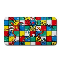 Snakes And Ladders Medium Bar Mats by Amaryn4rt