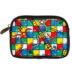Snakes And Ladders Digital Camera Cases by Amaryn4rt
