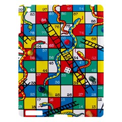 Snakes And Ladders Apple Ipad 3/4 Hardshell Case by Amaryn4rt
